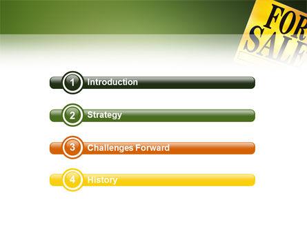 Real Estate Sale PowerPoint Template, Slide 3, 02772, Real Estate — PoweredTemplate.com