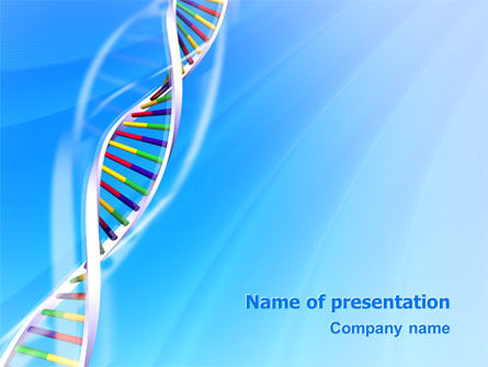 Genome PowerPoint Template, 02774, Medical — PoweredTemplate.com