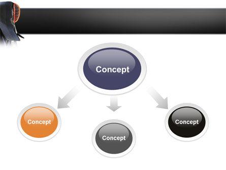 Kendo PowerPoint Template, Slide 4, 02779, Sports — PoweredTemplate.com