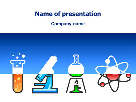 Education & Training: Natural Sciences PowerPoint Template #02780