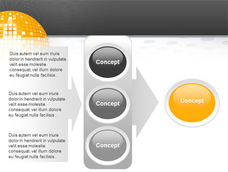Disco Ball PowerPoint Template Slide 11