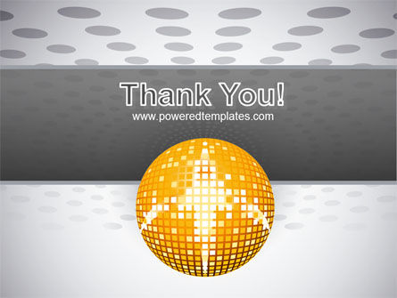 Disco Ball PowerPoint Template Slide 20