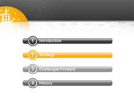 Disco Ball PowerPoint Template, Slide 3, 02785, Art & Entertainment — PoweredTemplate.com