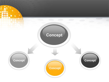 Disco Ball PowerPoint Template Slide 4
