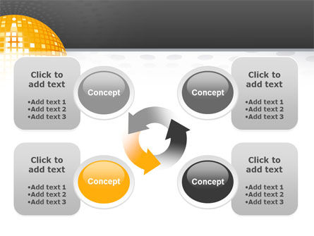 Disco Ball PowerPoint Template Slide 9