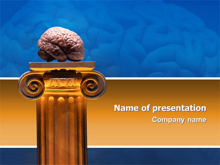 Mind PowerPoint Template, 02787, Medical — PoweredTemplate.com