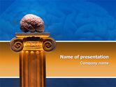 Medical: Modèle PowerPoint de esprit #02787