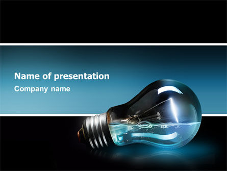 Light Technology PowerPoint Template, 02788, Business Concepts — PoweredTemplate.com