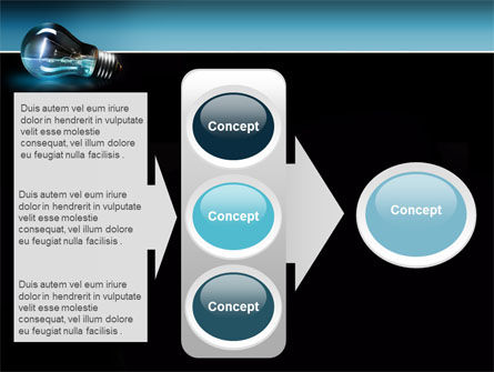 Light Technology PowerPoint Template Slide 11