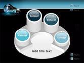 Light Technology PowerPoint Template#12