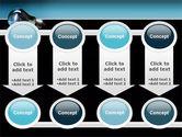 Light Technology PowerPoint Template#18