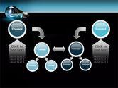Light Technology PowerPoint Template#19