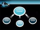 Light Technology PowerPoint Template#4
