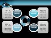 Light Technology PowerPoint Template#9