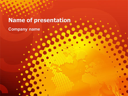 Global: Global Warming Problem PowerPoint Template #02790