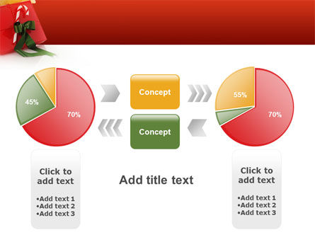 Christmas Gift PowerPoint Template Slide 11