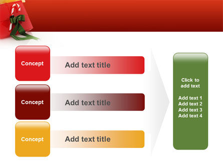 Christmas Gift PowerPoint Template Slide 12