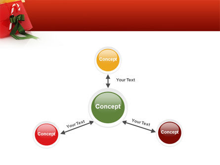 Christmas Gift PowerPoint Template Slide 14