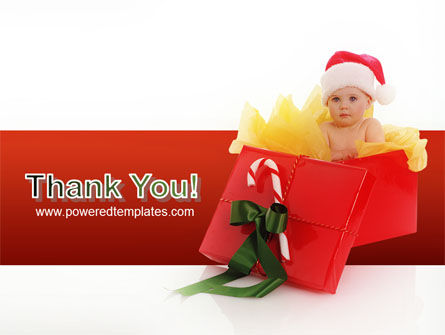 Christmas Gift PowerPoint Template Slide 20