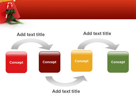Christmas Gift PowerPoint Template Slide 4