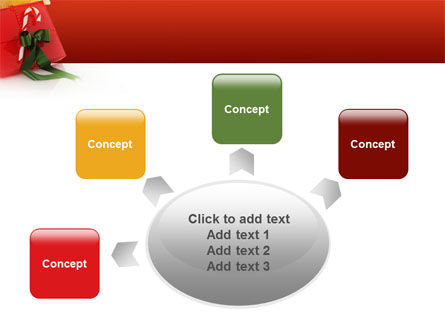 Christmas Gift PowerPoint Template Slide 7