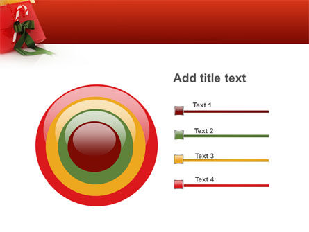 Christmas Gift PowerPoint Template Slide 9
