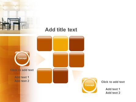 Office Canteen PowerPoint Template Slide 16