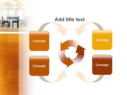 Office Canteen PowerPoint Template Slide 6