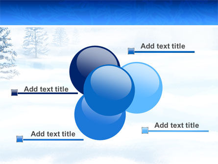 Winter Snow PowerPoint Template Slide 10