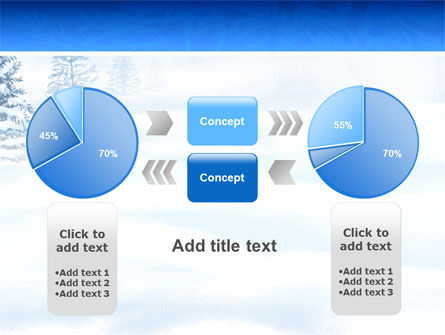 Winter Snow PowerPoint Template Slide 11