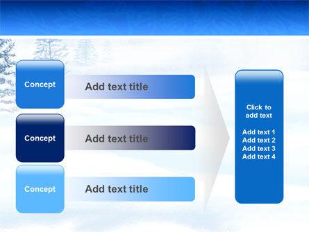 Winter Snow PowerPoint Template Slide 12
