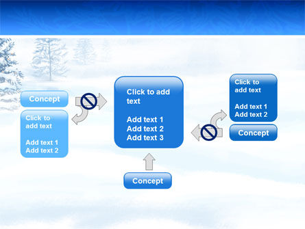 Winter Snow PowerPoint Template Slide 13
