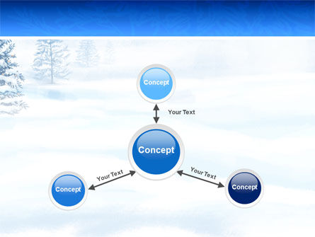 Winter Snow PowerPoint Template Slide 14