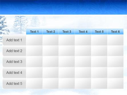 Winter Snow PowerPoint Template Slide 15