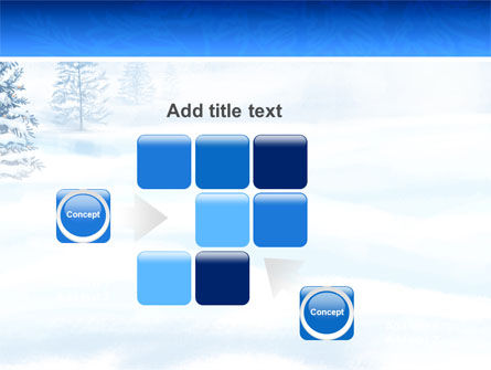 Winter Snow PowerPoint Template Slide 16