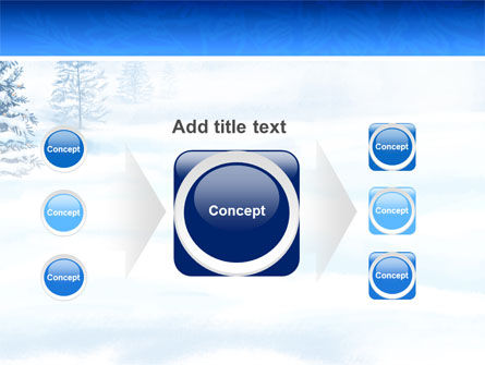 Winter Snow PowerPoint Template Slide 17