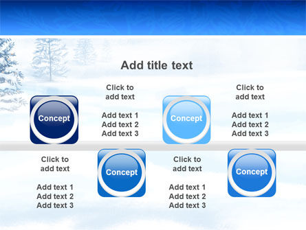 Winter Snow PowerPoint Template Slide 19