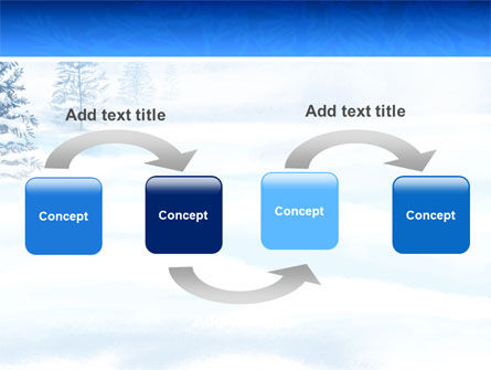 Winter Snow PowerPoint Template, Slide 4, 02800, Nature & Environment — PoweredTemplate.com