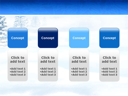 Winter Snow PowerPoint Template Slide 5