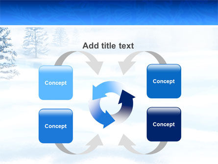 Winter Snow PowerPoint Template Slide 6