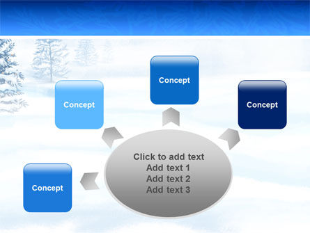 Winter Snow PowerPoint Template Slide 7