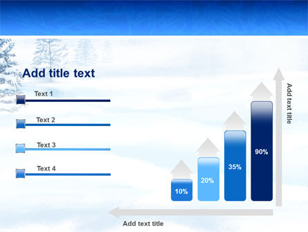 Winter Snow PowerPoint Template Slide 8