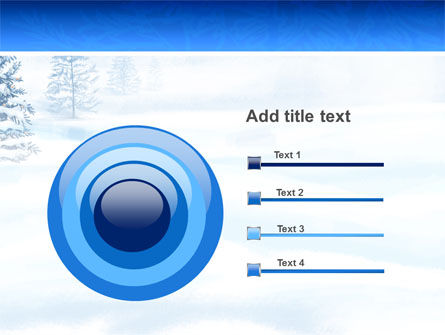 Winter Snow PowerPoint Template Slide 9