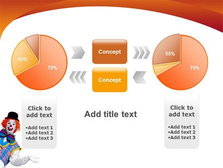 Clown PowerPoint Template Slide 11