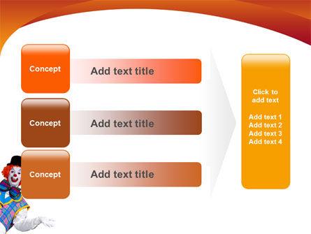Clown PowerPoint Template Slide 12