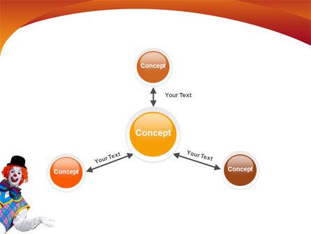 Clown PowerPoint Template Slide 14