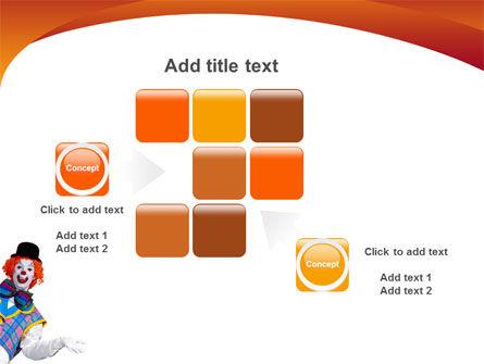 Clown PowerPoint Template Slide 16