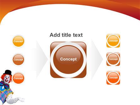 Clown PowerPoint Template Slide 17