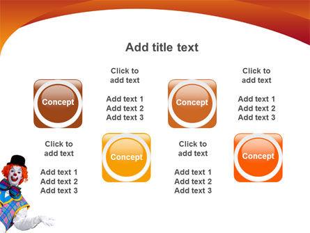 Clown PowerPoint Template Slide 19