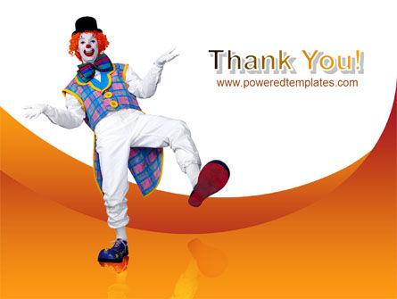 Clown PowerPoint Template Slide 20